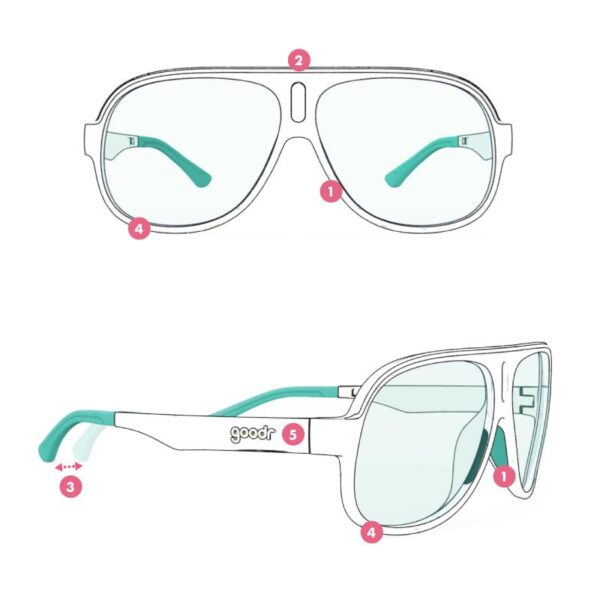 goodr sweden runners solglasögon sportglasögon